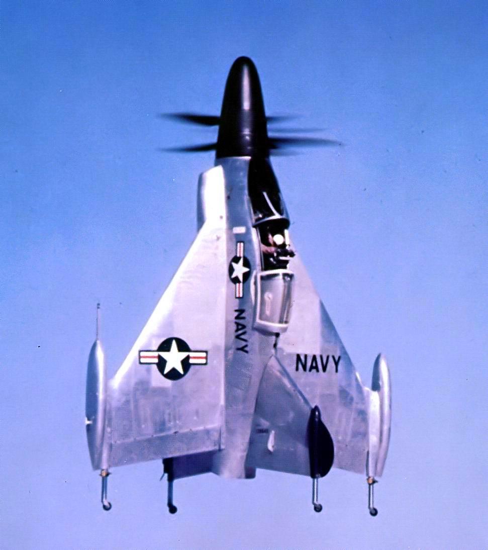 Le XFY-1 au décollage