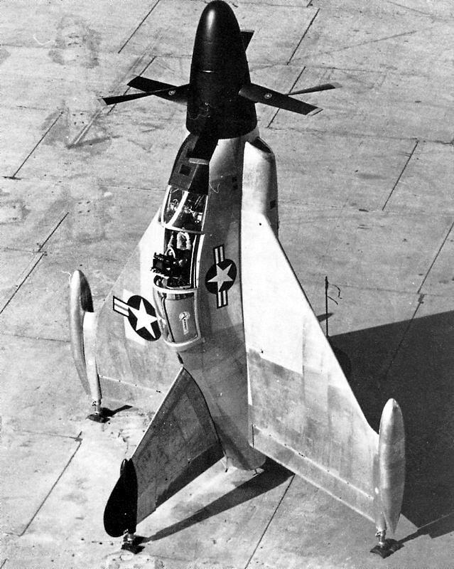 Le Convair XFY-1